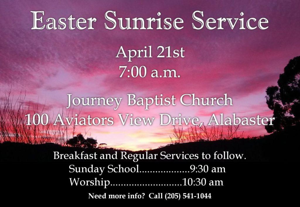 Easter Sunrise Service 2019